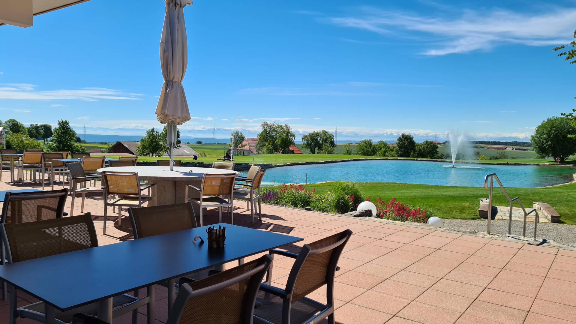 Restaurant Belvedere im golfclub obere alp