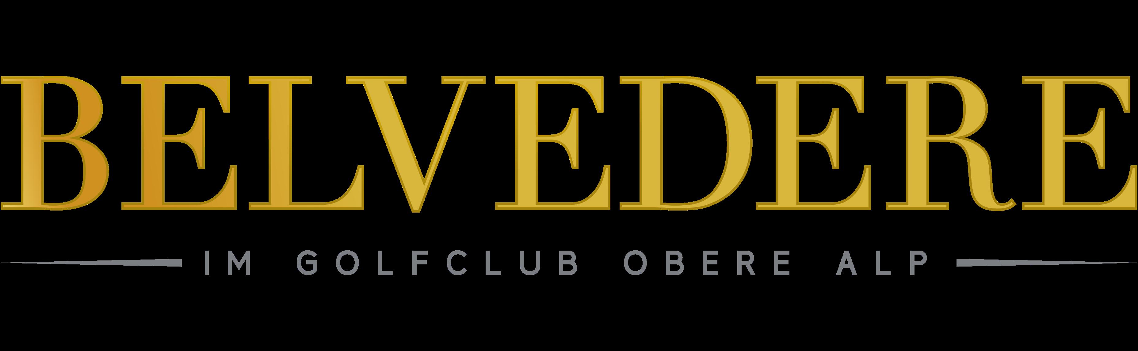 logo schrift belvedere obere alp